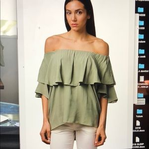 MLM LABEL Madison off the shoulder new w tags S